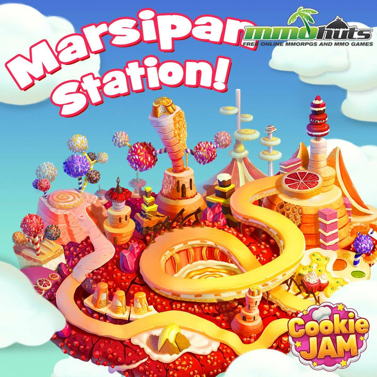 Cookie Jam Marsipan Station Level 26 In Cookie Jam
