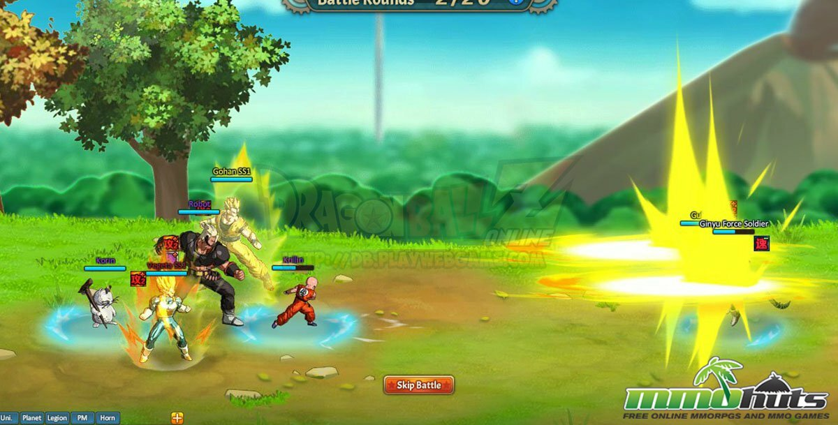 free  game dragon ball online