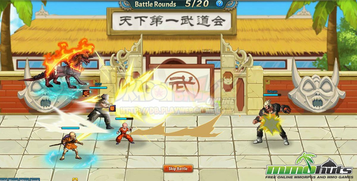 Play free dragon ball z rpg games online
