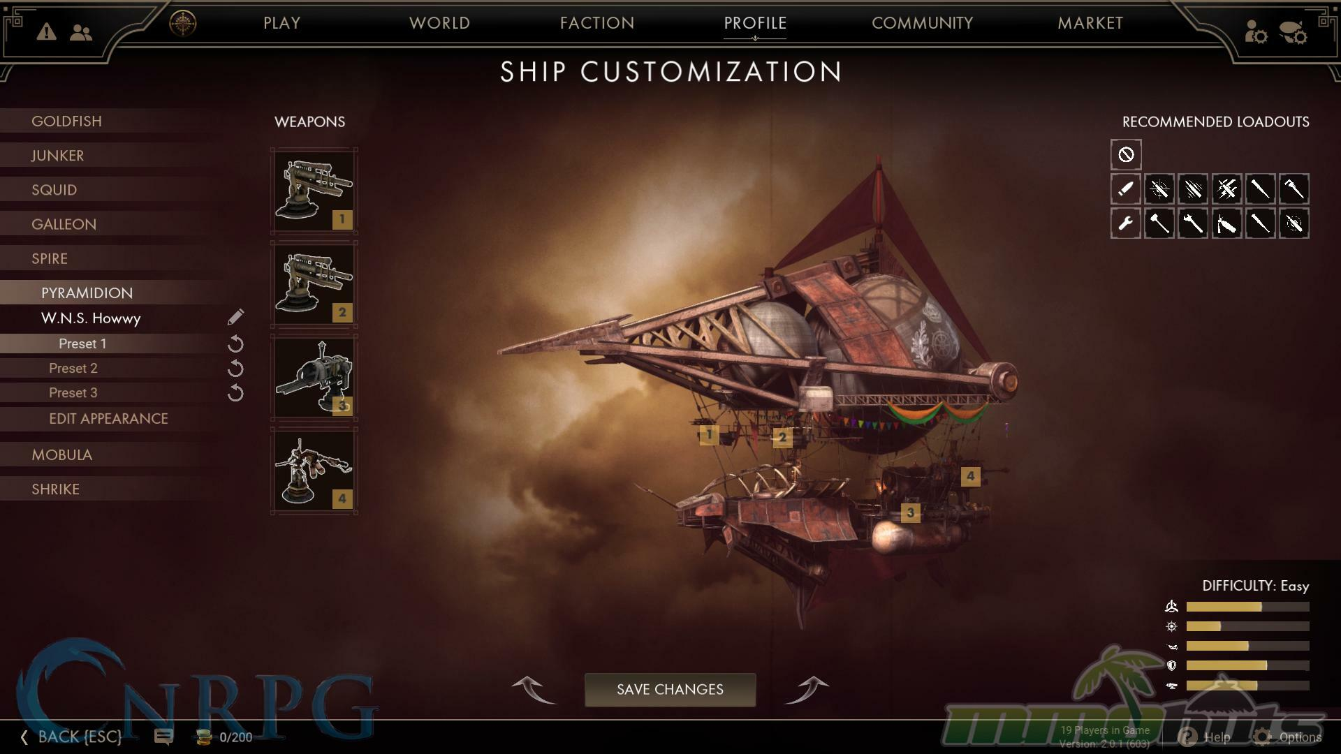 Guns of Icarus: Alliance Review Screenshot