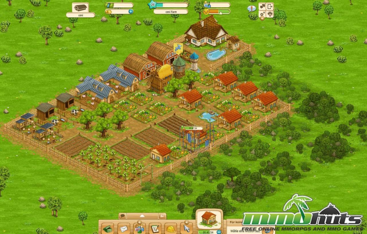 big farm at