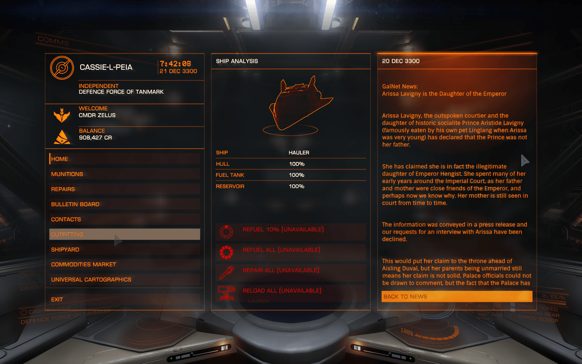 Elite Dangerous Review Screenshot 03