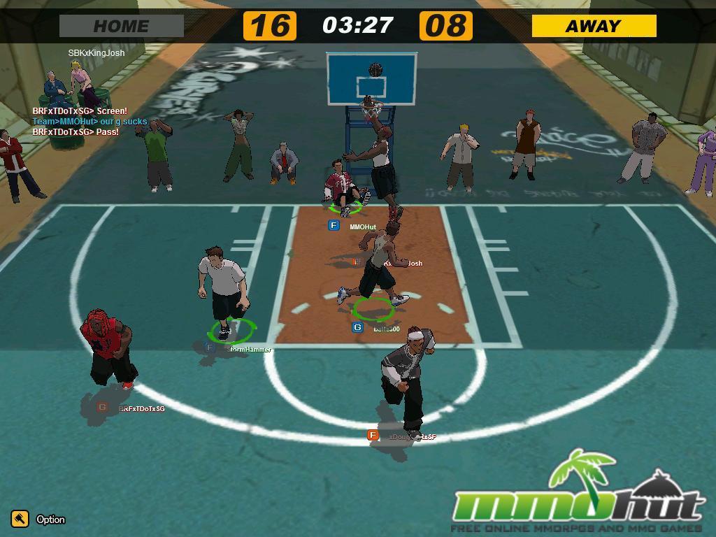 freestyle street basketball: