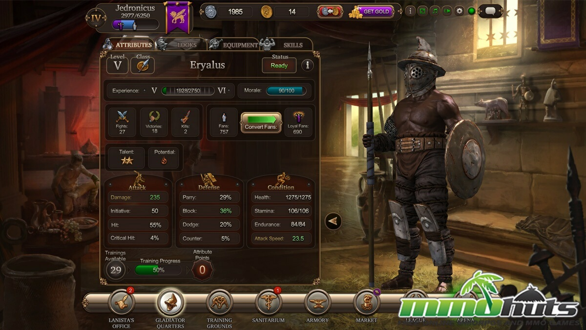 gladiator free online