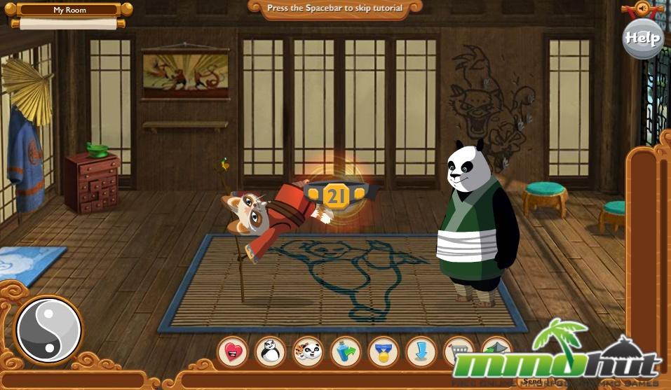 kung fu panda world games to play