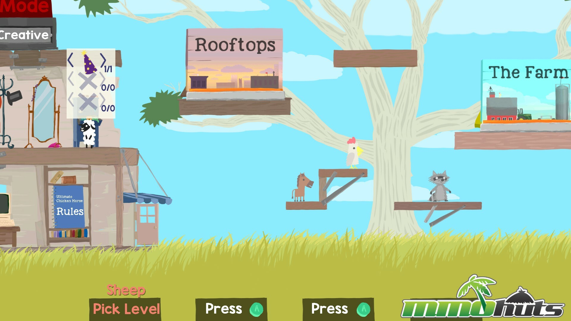 Ultimate Chicken Horse Game Launch Review