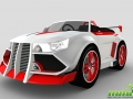 Wincars Racer_RedWhite Car