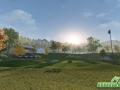 Winning Putt Preview Screenshot 17 Golf Course Sunset