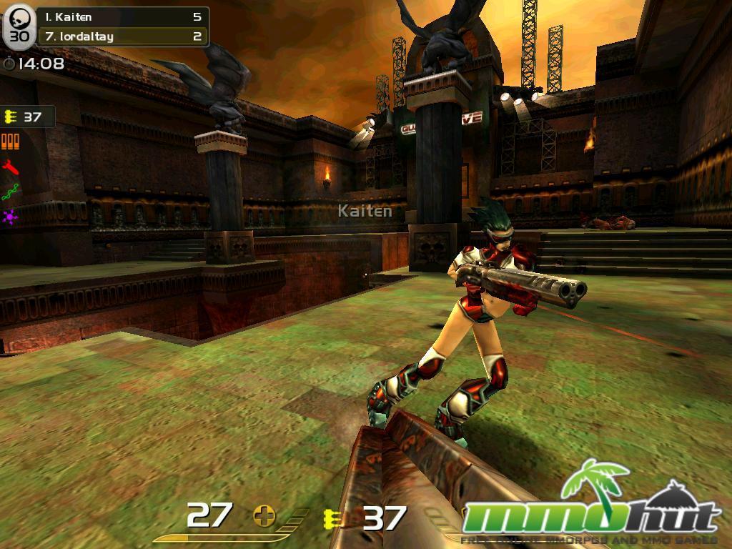 Quake Live Linux MMO
