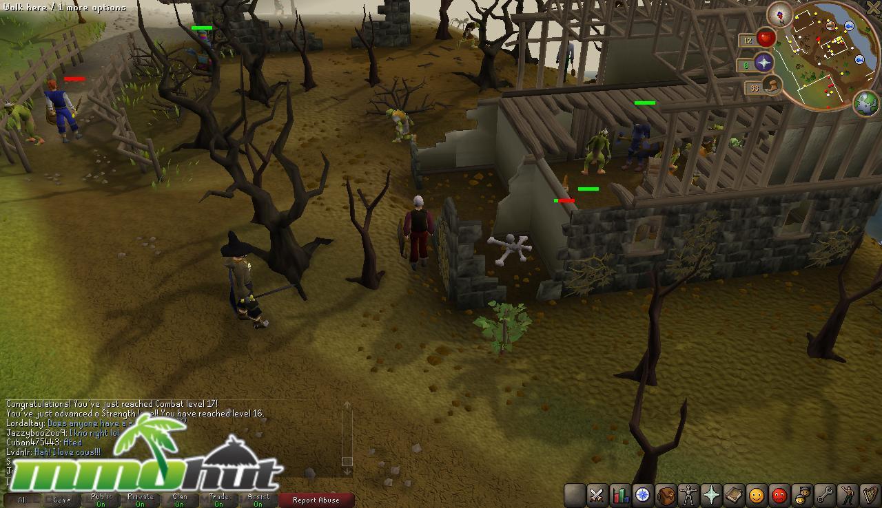 Runescape Linux MMORPGs