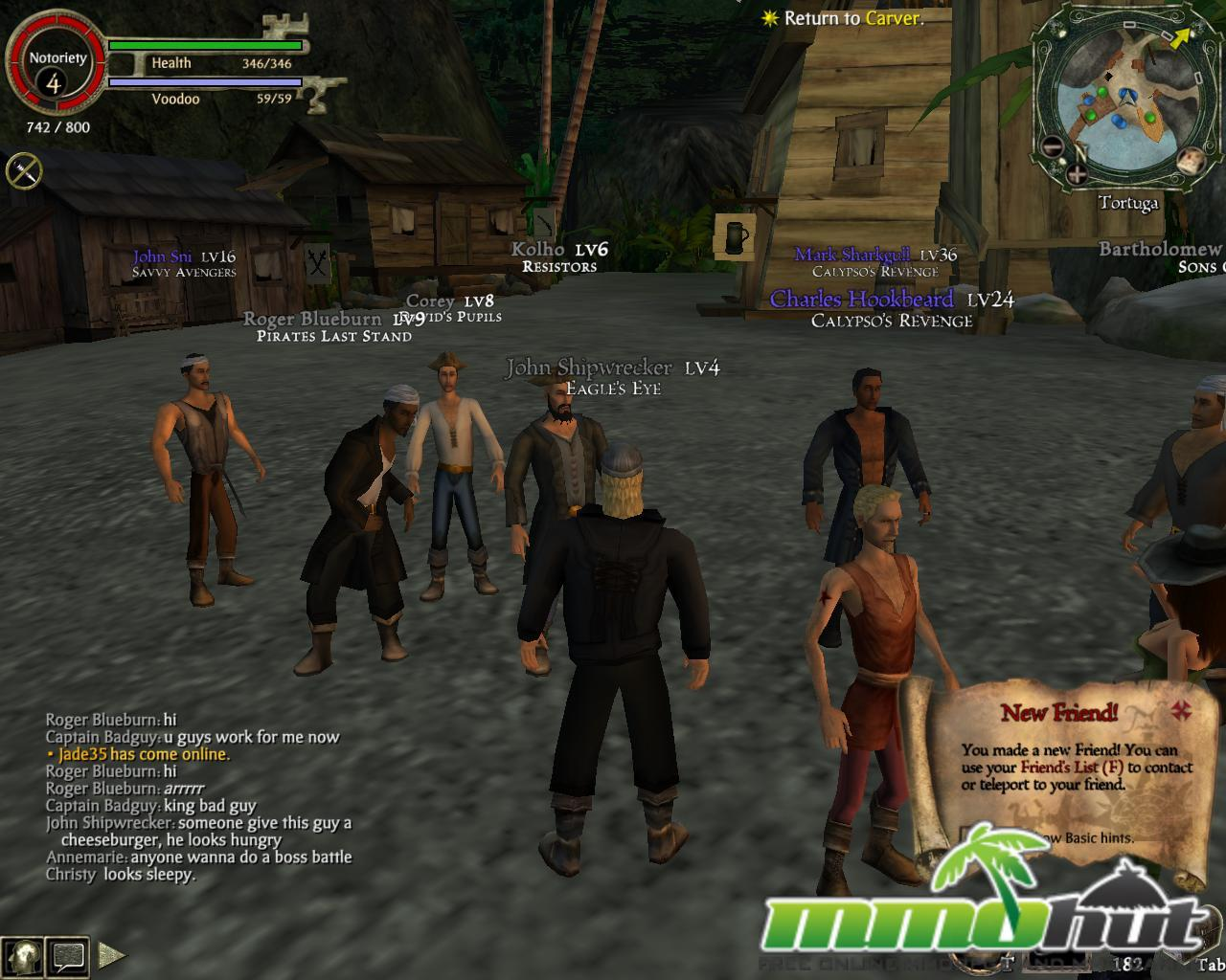 Pirates of the Caribbean Online Screenshot