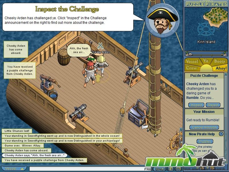 Puzzle Pirates Screenshot