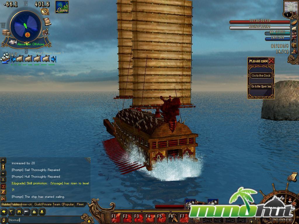 Voyage Century Screenshot