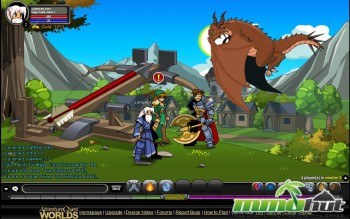 Adventure Quest Worlds Dragon Screenshot
