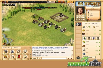 Evony City View Screenshot