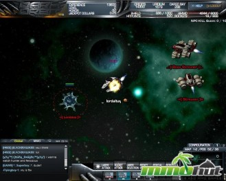Dark Orbit Aliens Screenshot