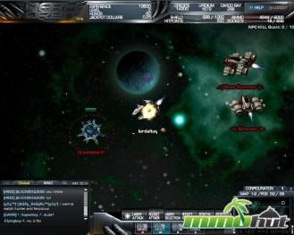Dark Orbit Aliens Screenshot