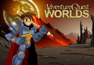 AdventureQuest Worlds Game Banner