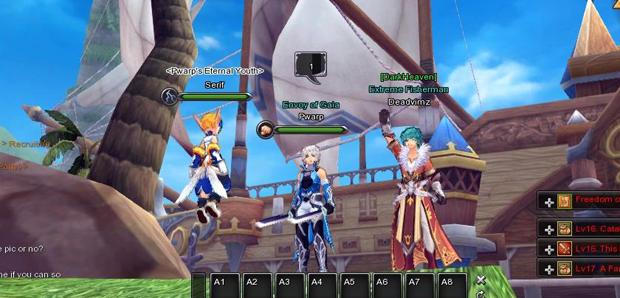 Aura Kingdom Closed Beta Review