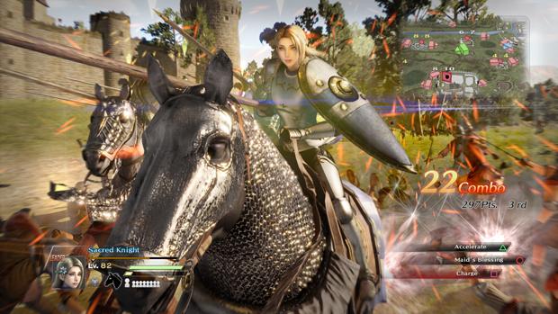 Bladestorm: Nightmare, Horseback Riding