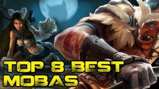Battle of the MOBAs - Top 8 Best MOBA Games Video Thumbnail