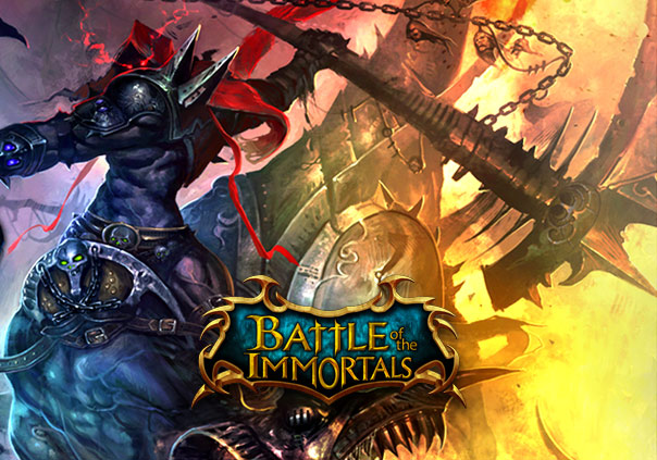 Battle of the Immortals Game Profile Banner