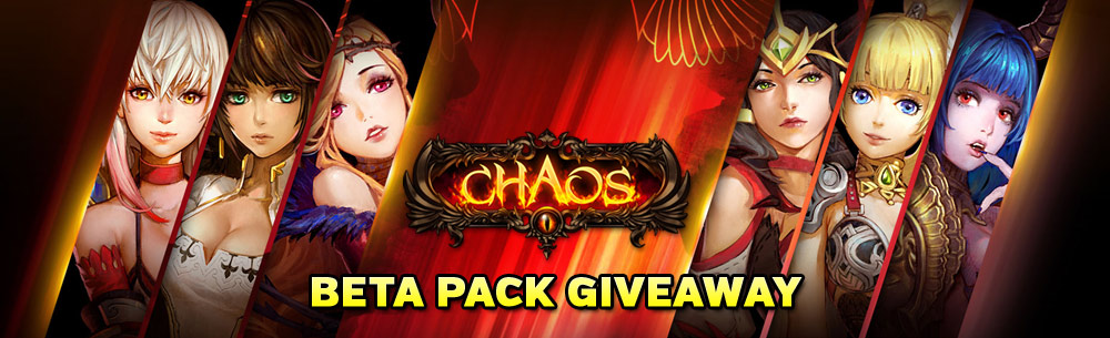 Chaos MMO Beta 2 Pack Giveaway