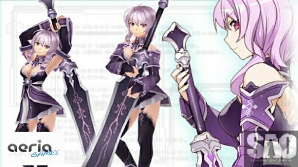 Sword Art Online Concept Art Screenshot