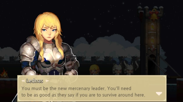 Crusaders Quest Leadership Screenshot