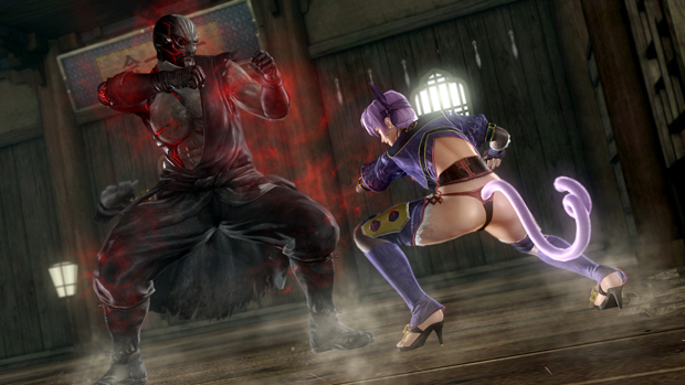 Dead or Alive 5 Preview; Raidou vs Ayane