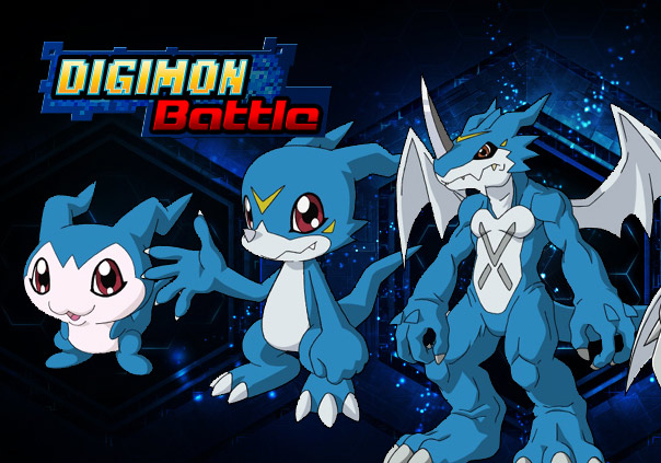 Digimon Battle Game Profile Banner