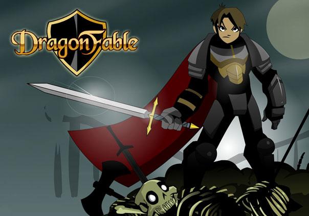 DragonFable Game Profile Banner