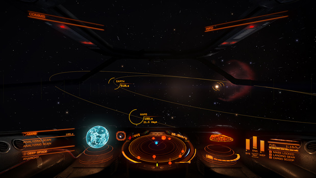 Elite: Dangerous Pre-Launch Press Preview Event Screenshot 02