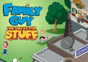 Family Guy The Quest for Stuff Game Banner