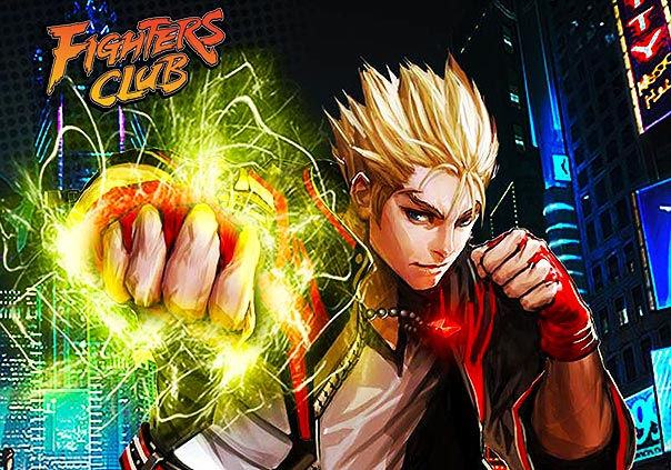 Fighters Club Game Banner
