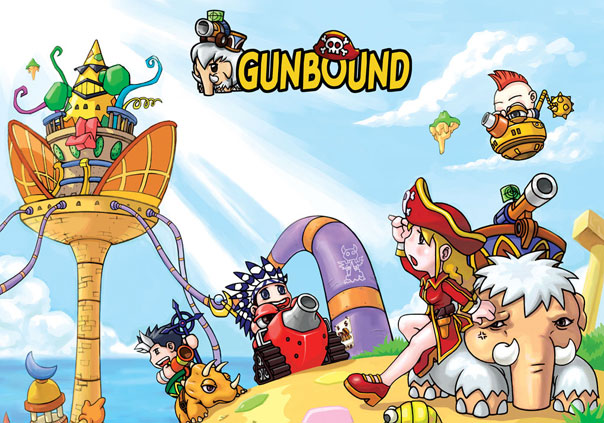 Gunbound Game Profile Banner