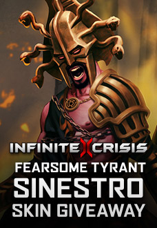 Infinite Crisis Fearsome Tyrant Sinestro Giveaway