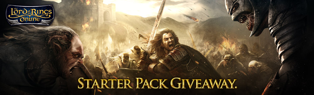 LOTRO Hobbit Starter Pack Giveaway