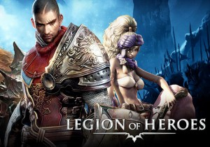 Legion of Heroes Game Banner