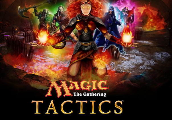 Magic The Gathering Tactics Game Profile Banner