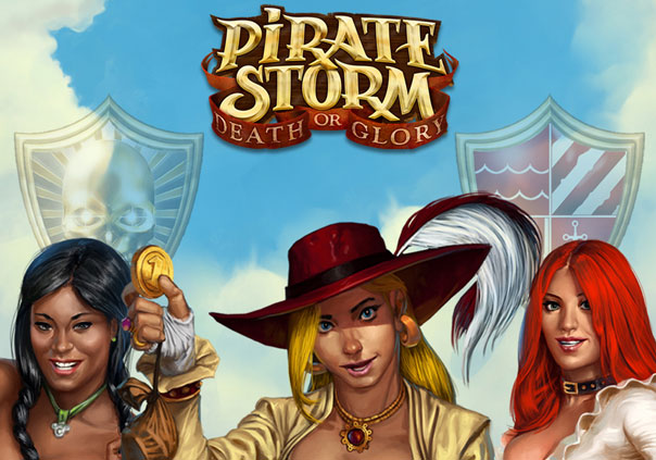 Pirate Storm Game Profile Banner