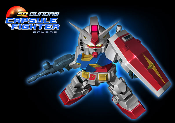 SD Gundam Capsule Fighter Online Game Profile Banner