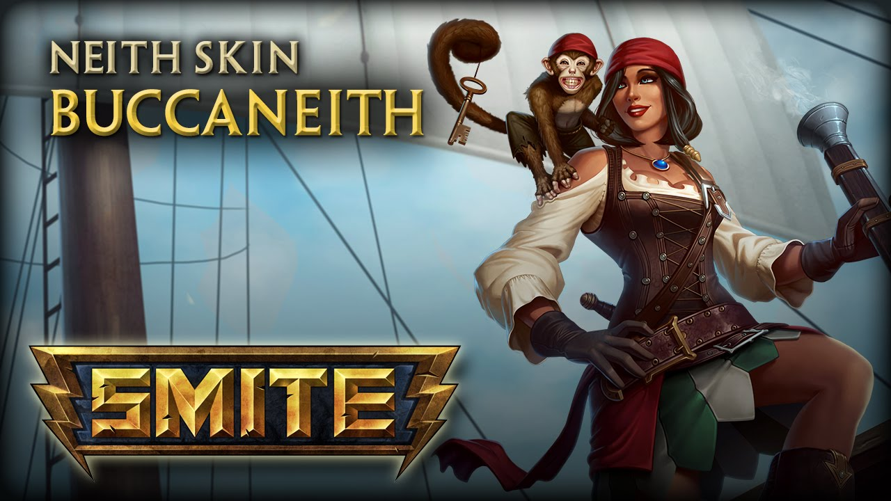 SMITE Buccaneith Neith Skin Video Thumbnail