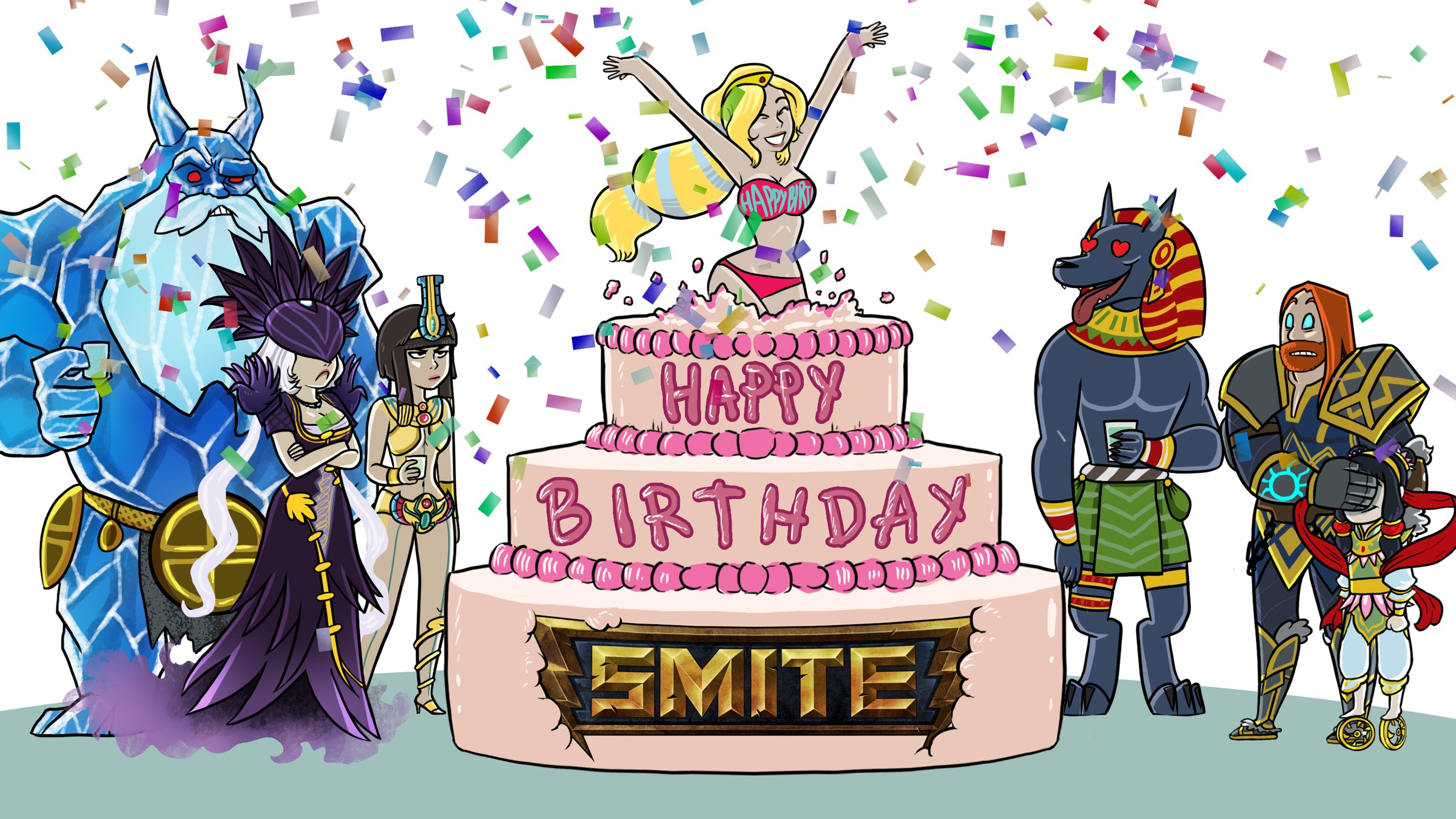 Happy Birthday SMITE - Music Video (Katy Perry Parody) Thumbnail