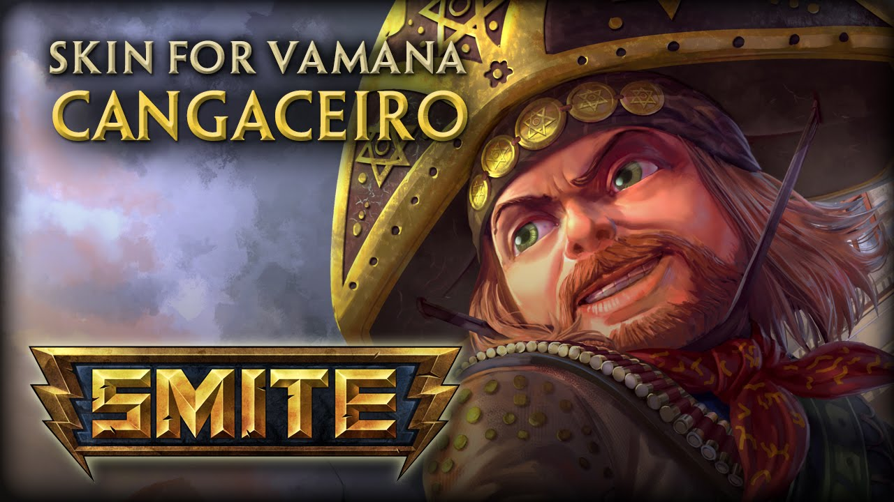 SMITE: Cangaceiro Vamana Skin Preview Video Thumbnail