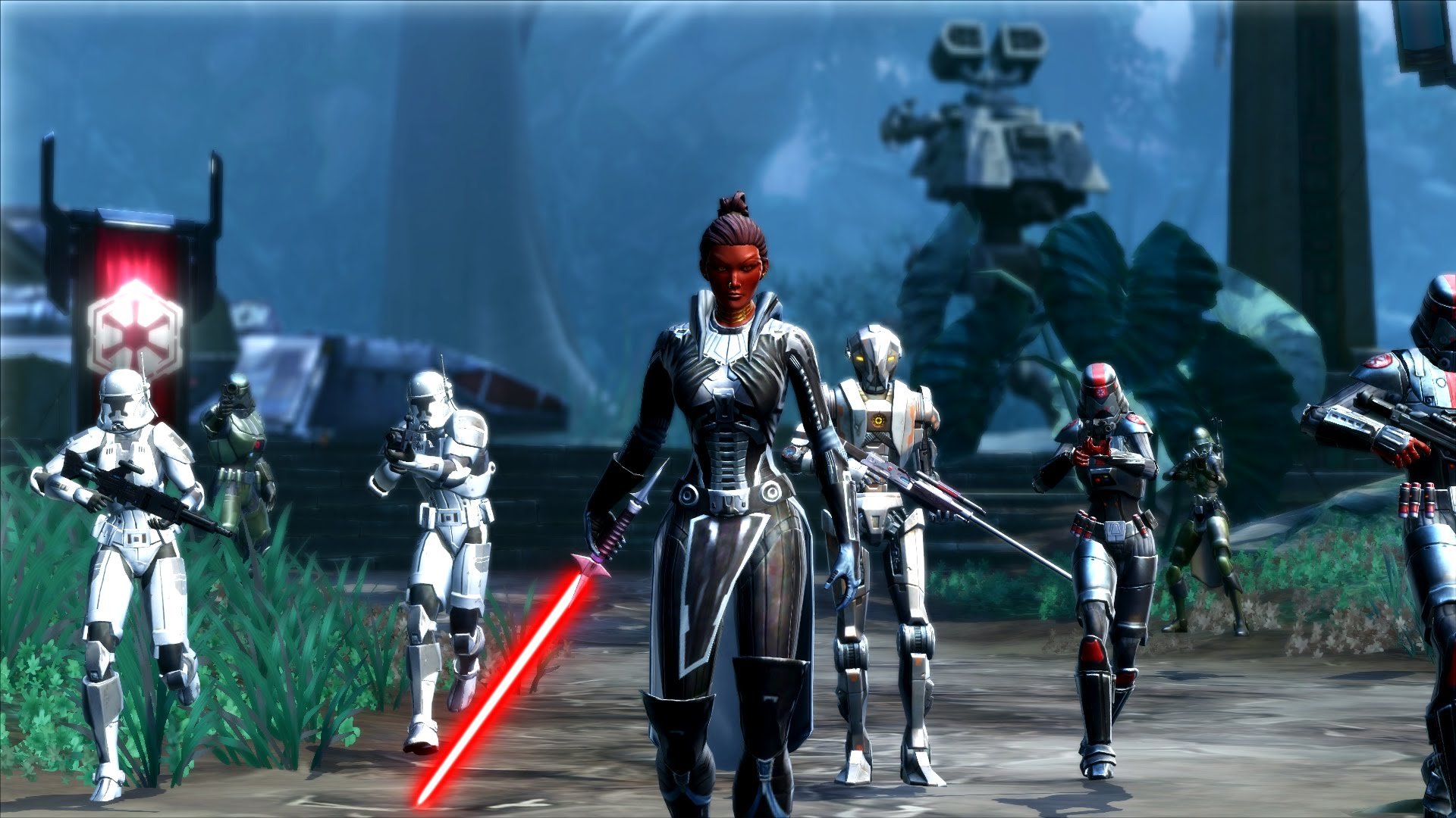 Star Wars The Old Republic Choose Your Path Trailer Video Thumbnail