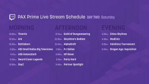 PAX Prime LIVE from the Twitch booth