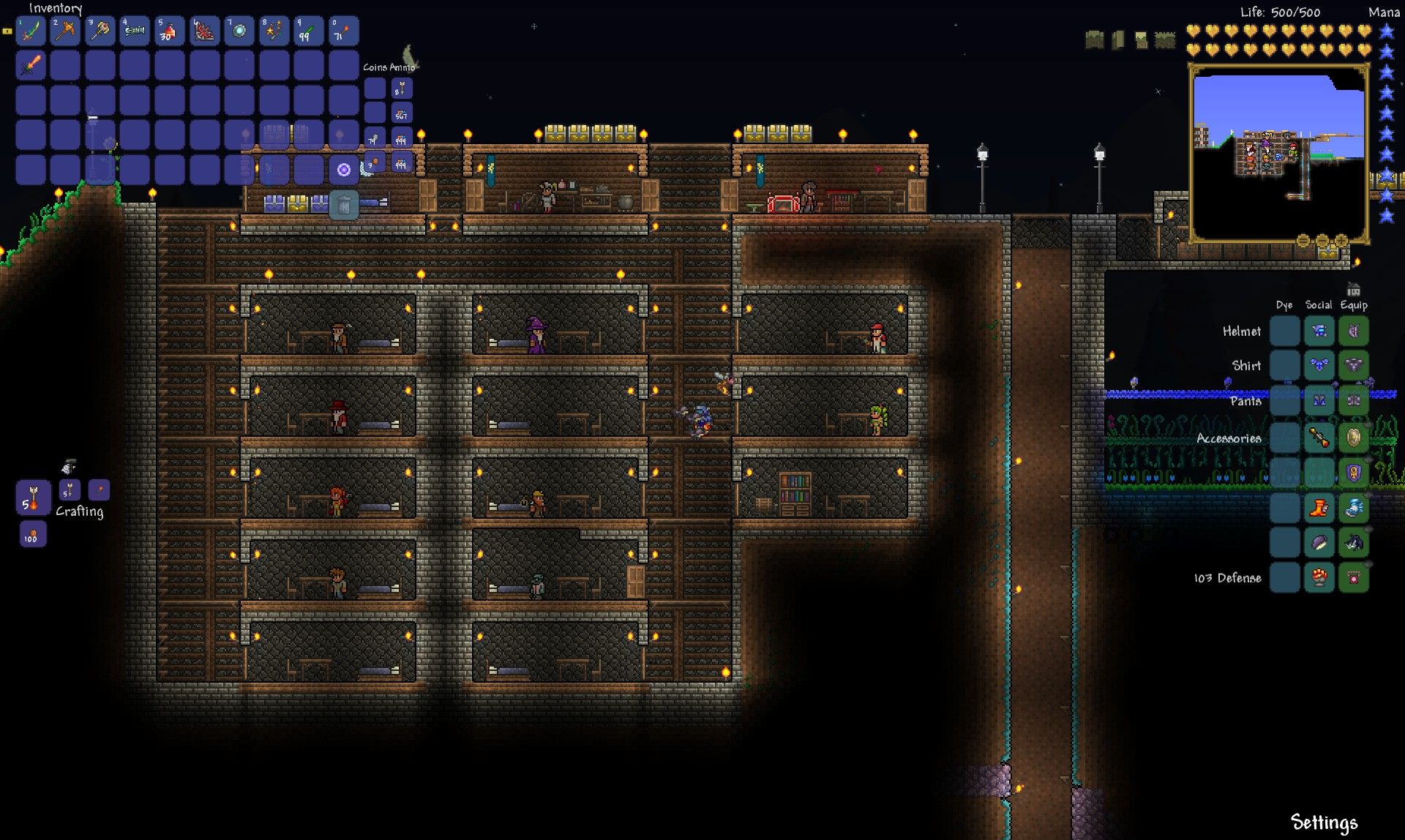 Terraria Review - Economy Housing