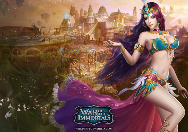 War of the Immortals Game Profile Banner