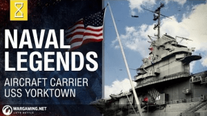 World of Warships Naval Legends USS Yorktown Video Thumbnail